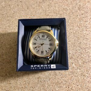 Sperry Kinney Watch with Canvas Strap (works)